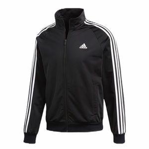 Adidas Athletic Track Jacket Black White M 8 10